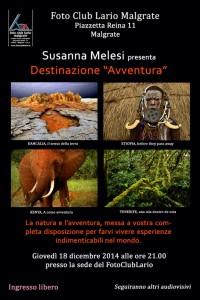 Susanna, Avventura 2014-12